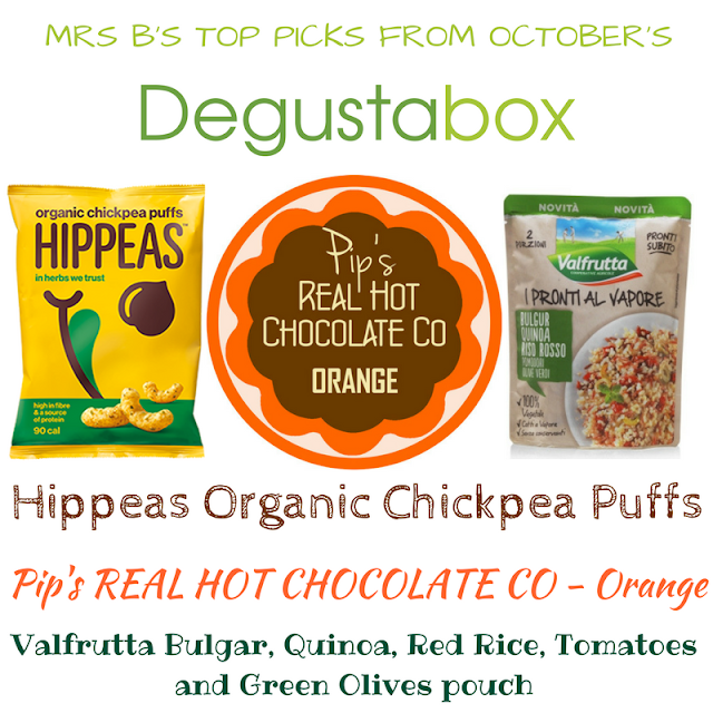 Mrs B's Top Picks from the October 2017 Degustabox