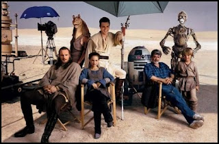 El reparto de La amenaza fantasma (The Phantom Menace, 1999), de George Lucas
