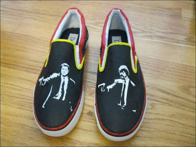 Zapatos tenis pulp fiction