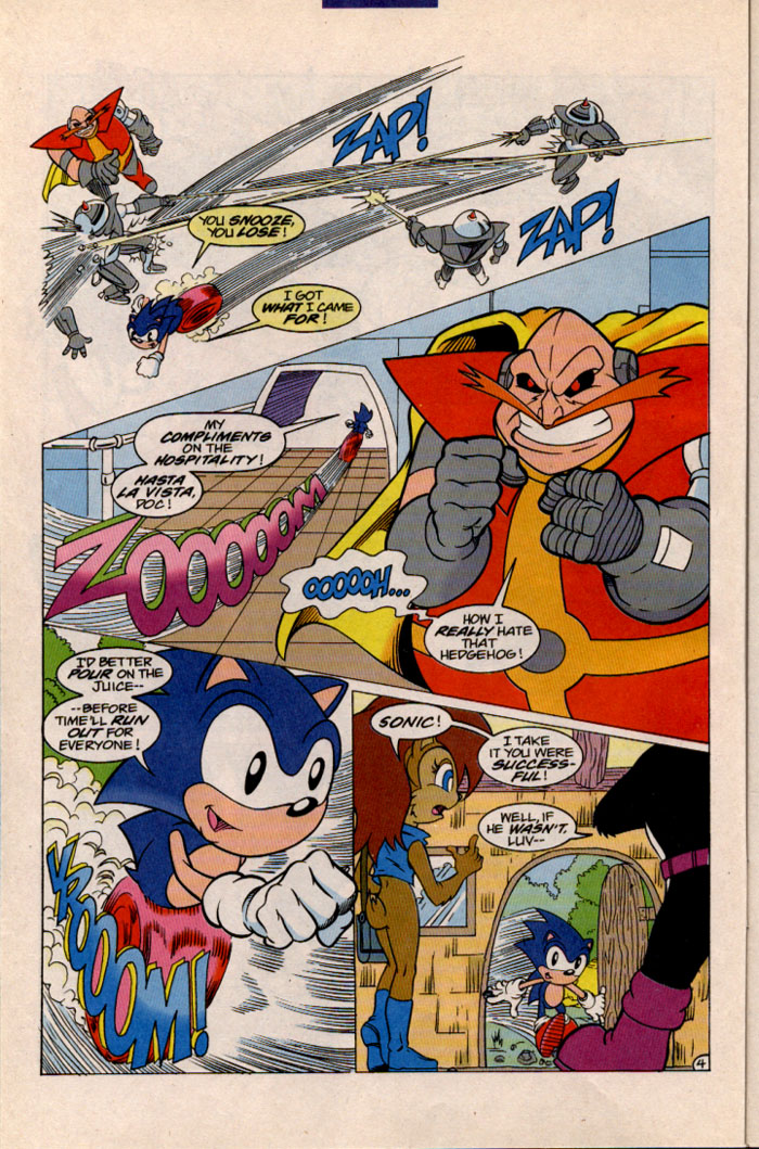 Read online Sonic The Hedgehog comic -  Issue #41 - 5