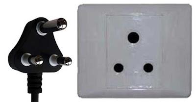 Instalaciones eléctricas residenciales - Enchufe tipo M