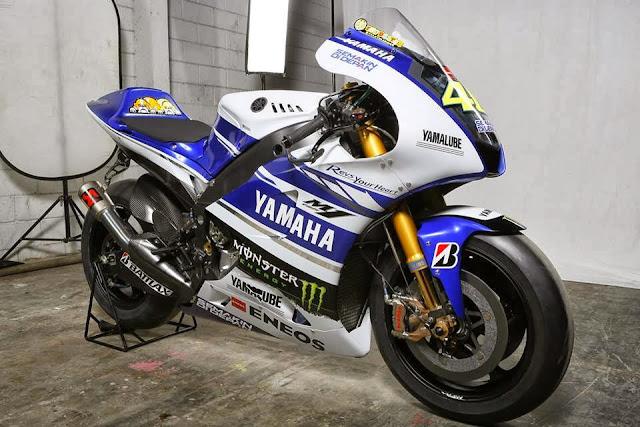 Yamaha Factory Team Melancarkan Yamaha YZR-M1 MotoGP 2014 Di Jakarta Indonesia