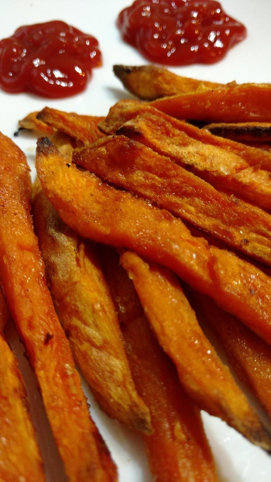 how to prepare sweet potato fries