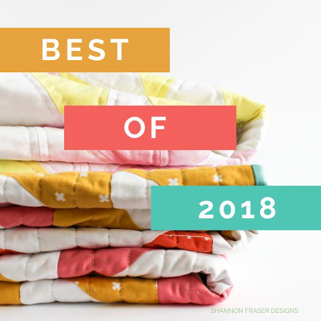 Best Blog Posts of 2018 Cover | Shannon Fraser Designs