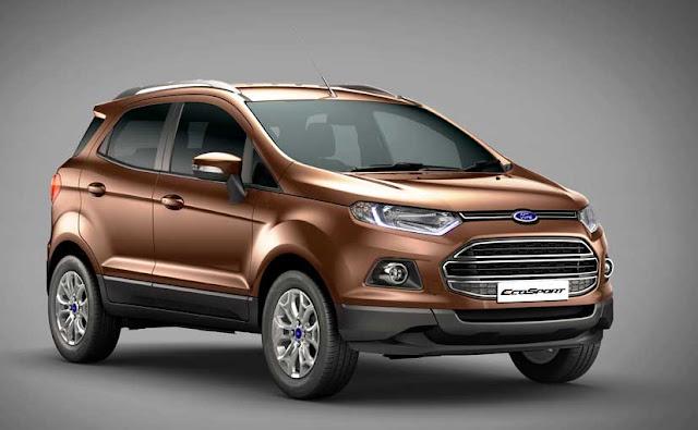 Ford thu hồi 8K xe Ford Ecosport, Fiesta Ecoboost và Ford Focus