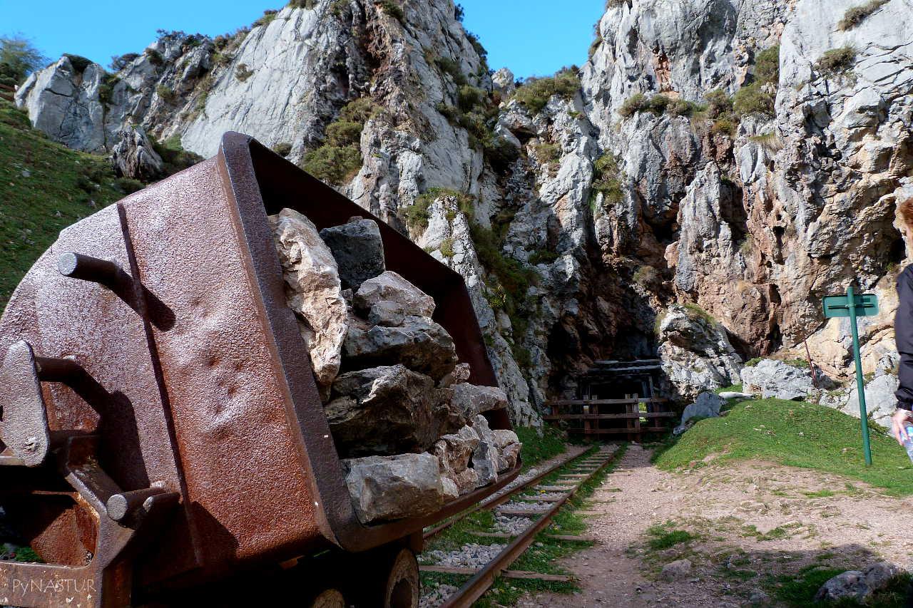 Mina de La Buferrera - Lagos de Covadonga - Asturias
