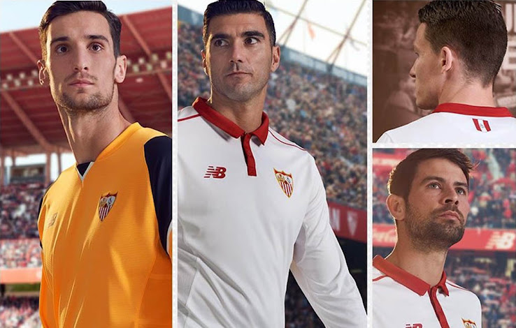 Sevilla 16 17 Home Kit Released Footy Headlines
