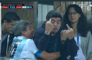 Zo zal Maradona reageren op dit blogje