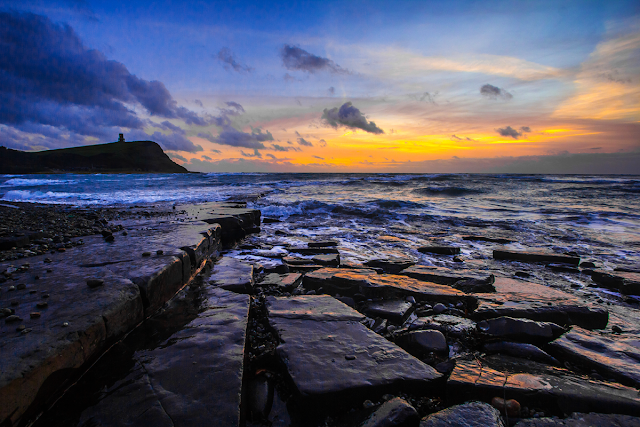 diego_torres - Public Domain Image - https://pixabay.com/en/jurassic-coast-dorset-sunset-ocean-1089035/