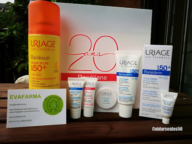 Productos de Uriage que no trajo Evafarma