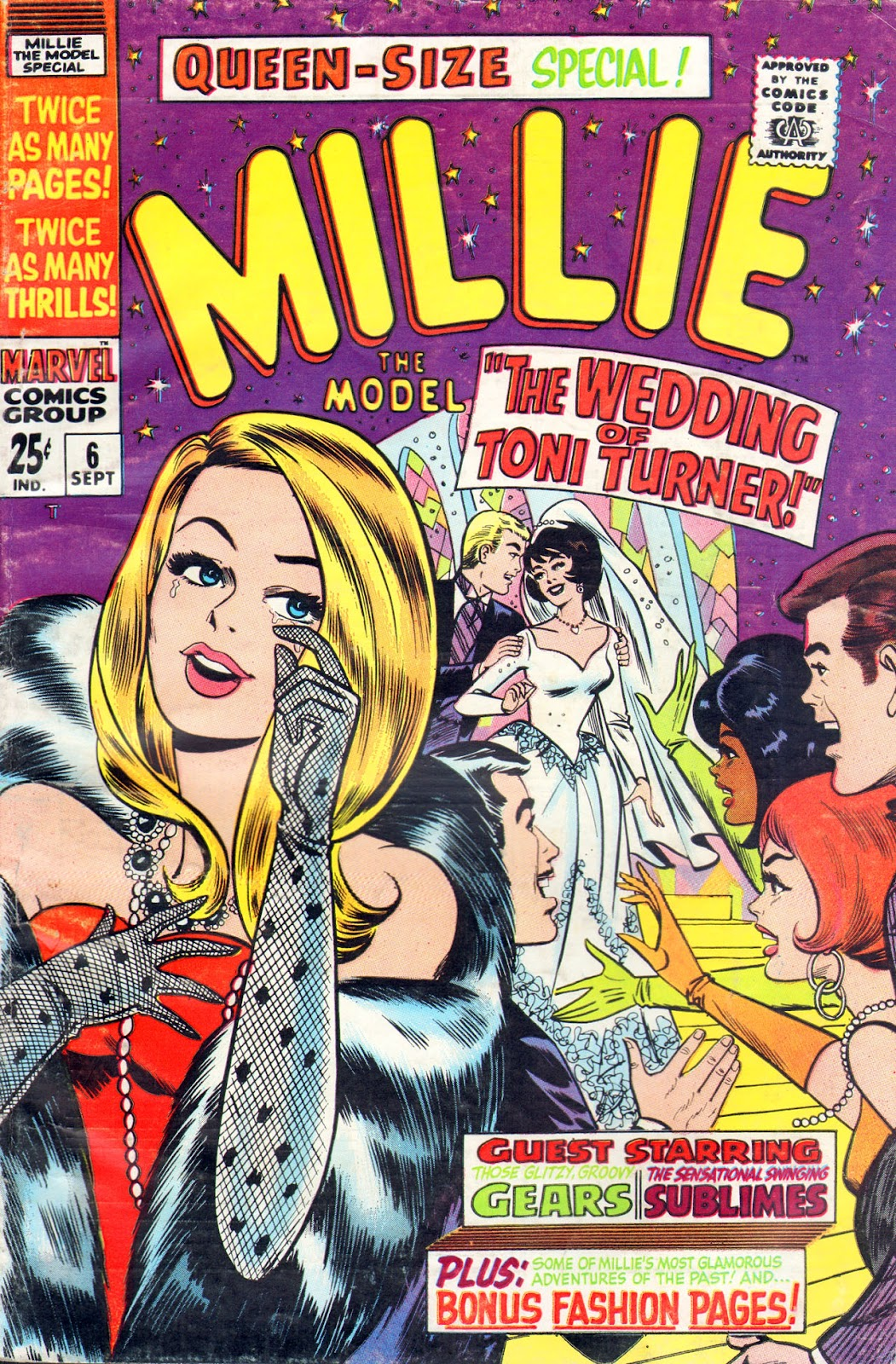 Read online Millie the Model comic -  Issue # Annual 6 - 1