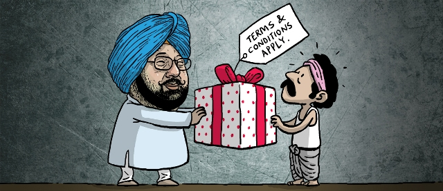 captain amrinder singh farm debt waiver