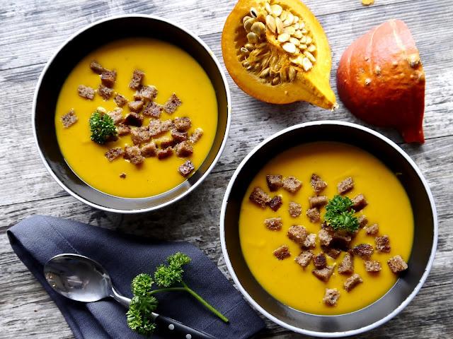 Orientalna zupa dyniowa. Dieta szybka przemiana - faza I i III - Czytaj więcej »