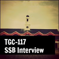 TGC 117 SSB Interview Dates