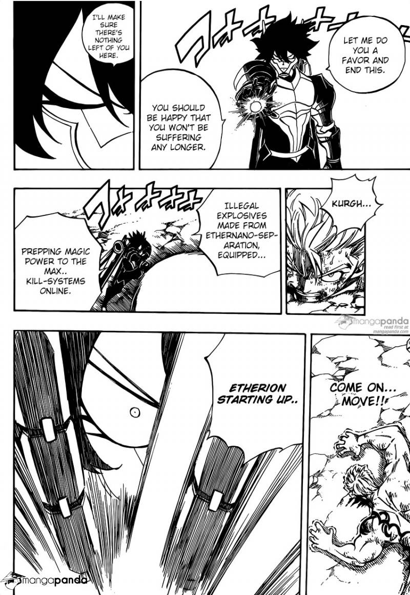 Fairy Tail Ch.473 - Red Lightning