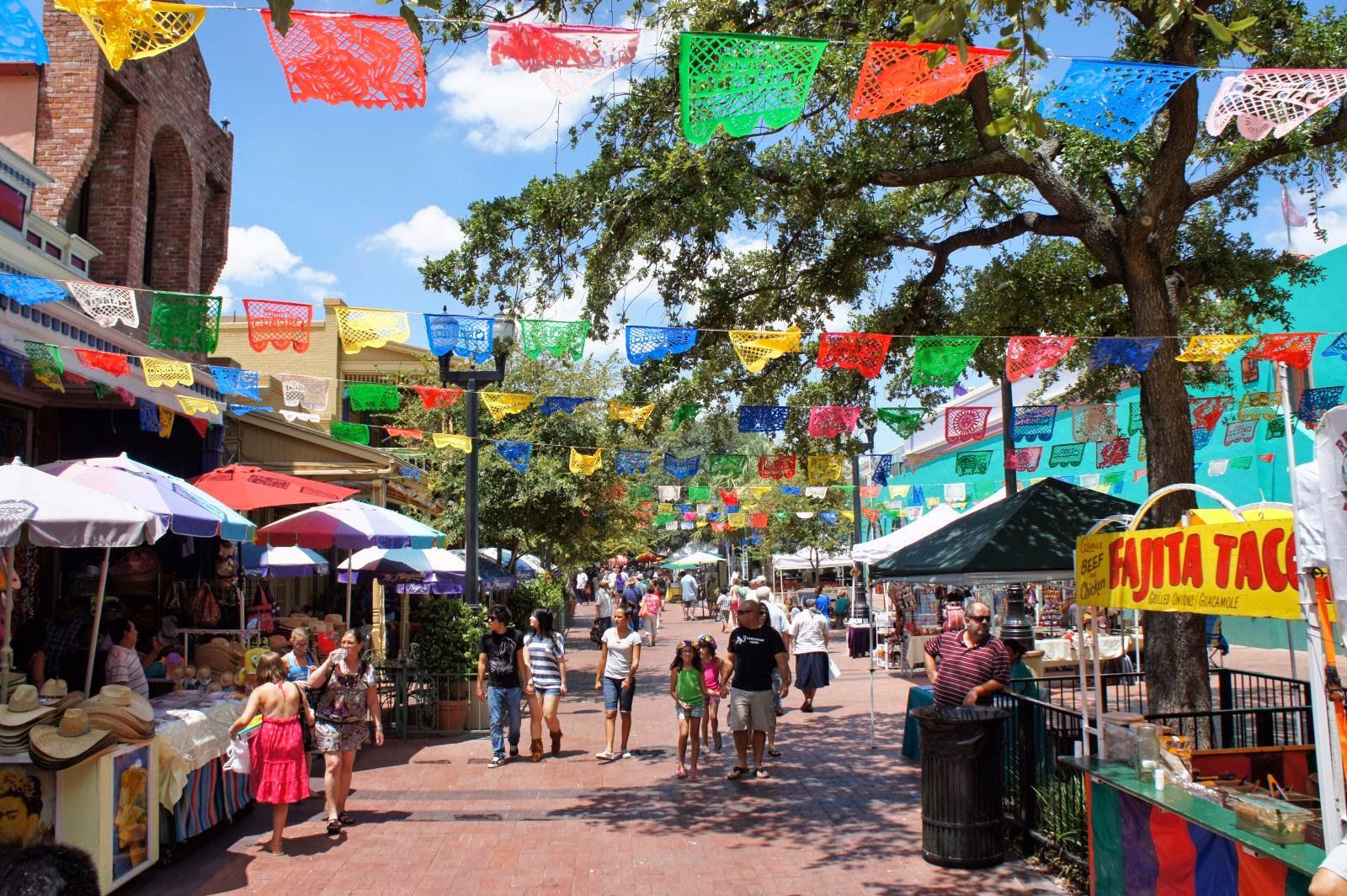 Abt Unk Travel Tuesday El Mercado In San Antonio 1980