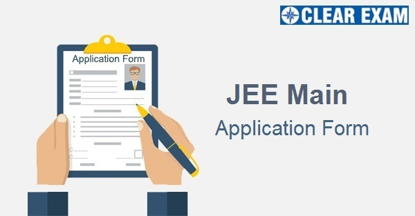 JEE Main Application Form 2020
