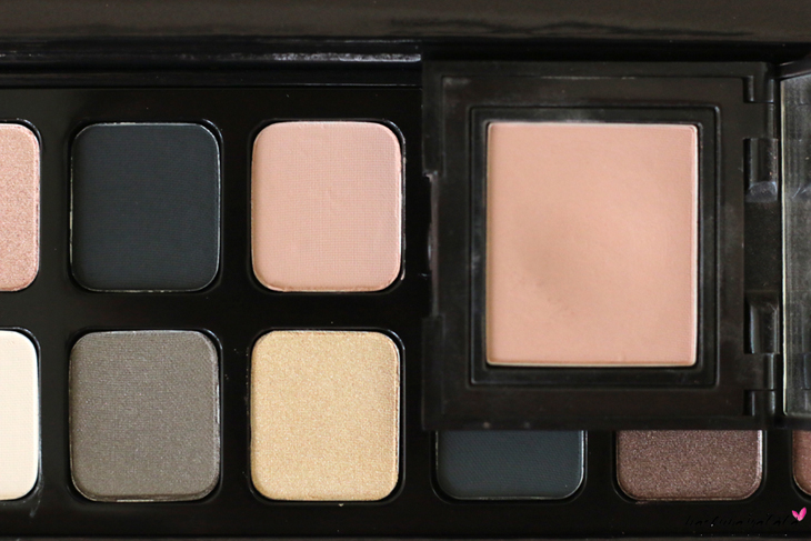 Laura Mercier Eye Art Caviar Colour-Inspired Edition - Eyeshadow Palette Swatches, Review,  MOTD, Ginger