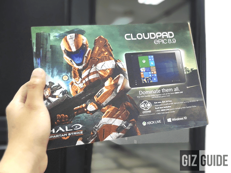 Coming Soon! CloudPad Epic 7.1, 8.0 And 8.9 With Pre Installed Halo For FREE!