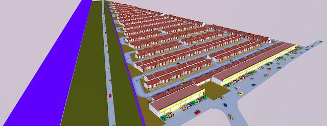 site plan denah rumah