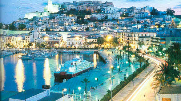 World Visits Beautiful Island Of Ibiza Spain Historical