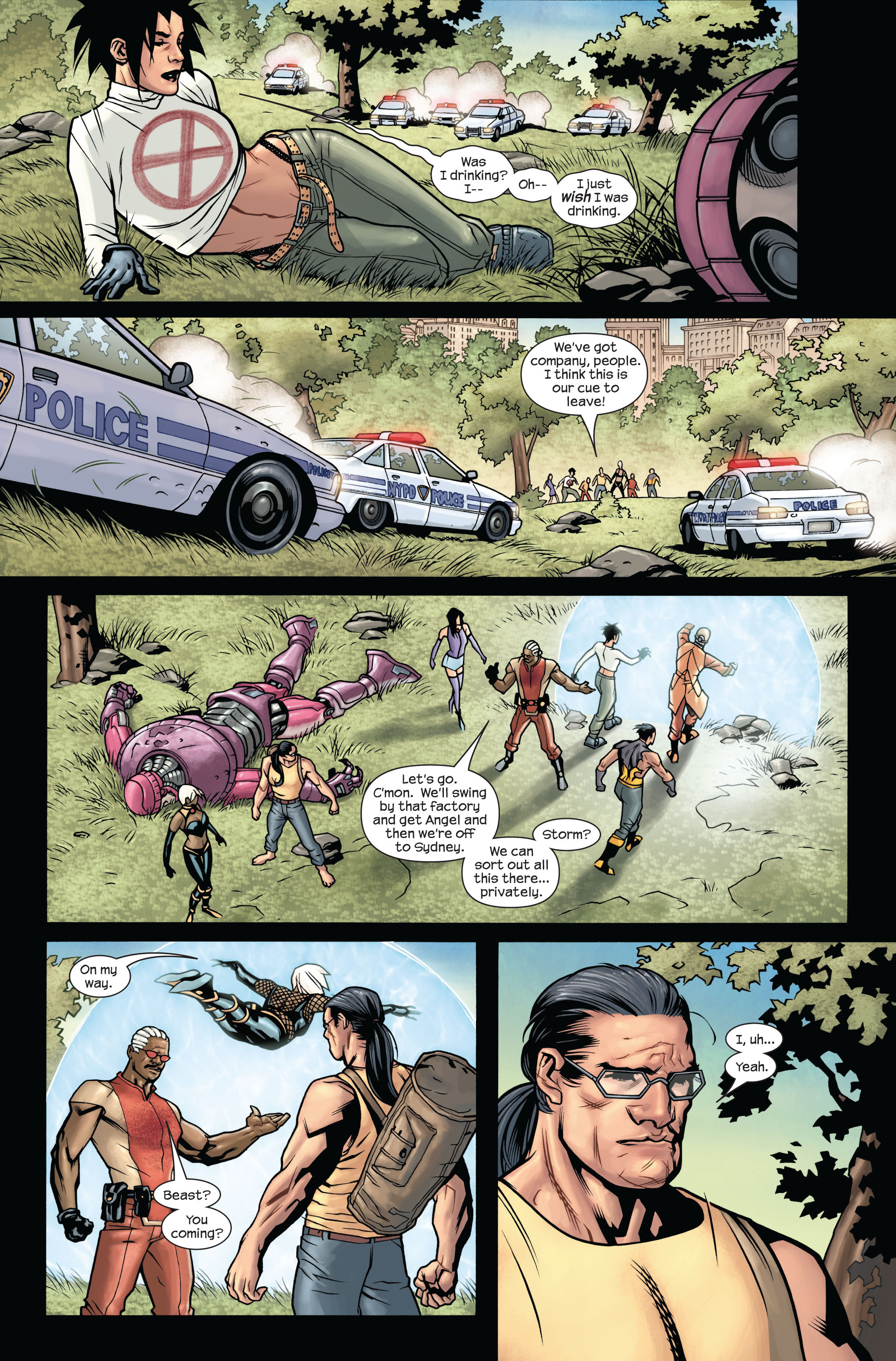 Read online Ultimate X-Men comic -  Issue #88 - 5