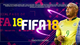 FTS Mod FIFA 2018 APK Data OBB by The Egy Fts Android Terbaru