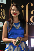 Madhu Shalini Looks Super Cute Slim trim Blue Choli Ghagra IIFA Utsavam Awards 039.JPG
