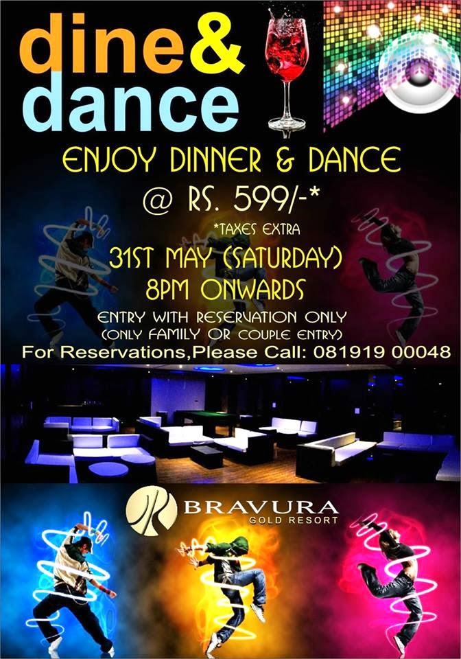 Saturday Night is Back at Bravura Gold Resort.