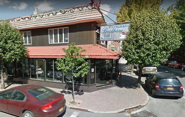 Alleged Bonanno mobster Vito  Badamo is a regular at Williamsburg's Fortunato Brothers Cafe.