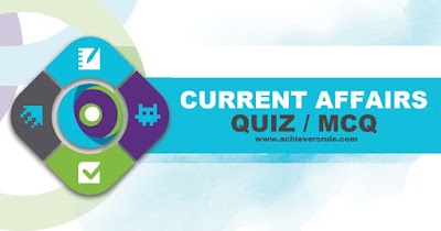 Current Affairs Quiz - 28th October 2017