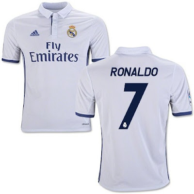 Jersey Real Madrid Home 2016-2017 Murah