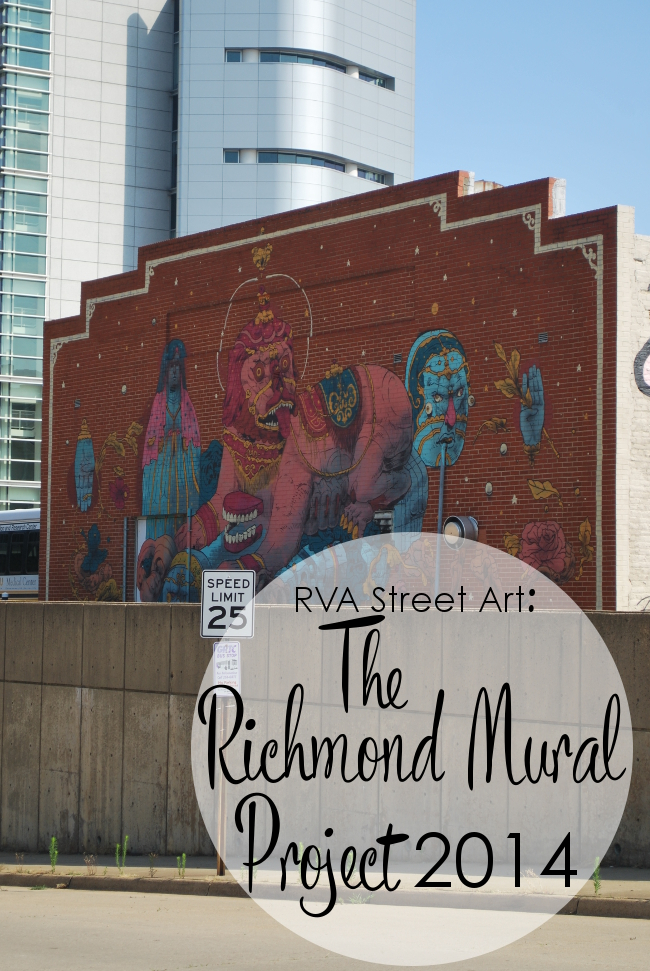 RVA Street Art: Richmond Mural Project 2014 | Yeti Crafts