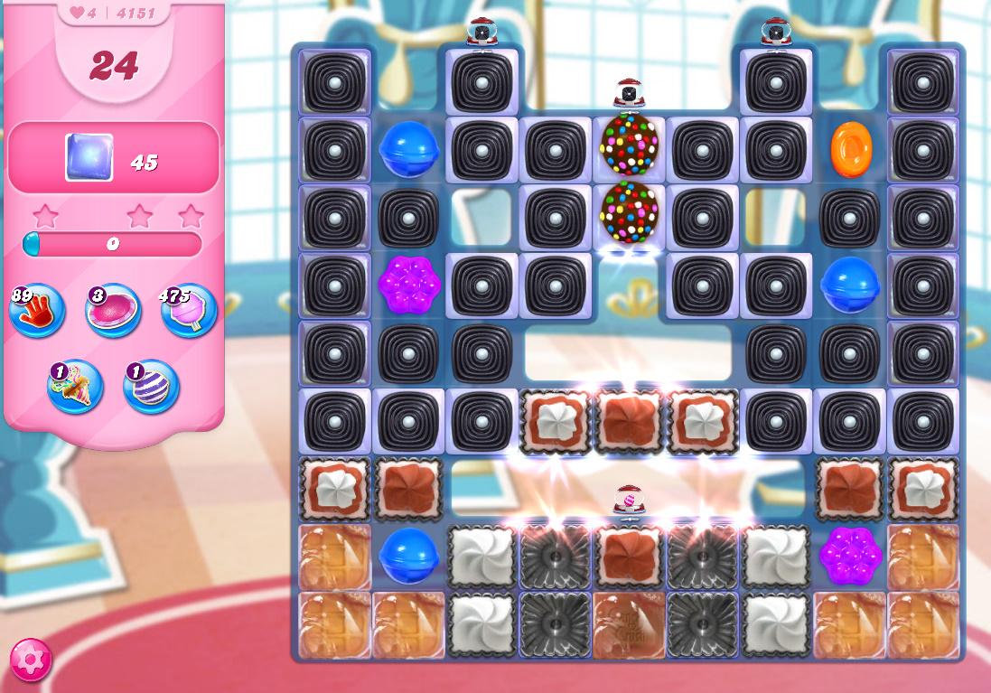Candy Crush Saga level 4151