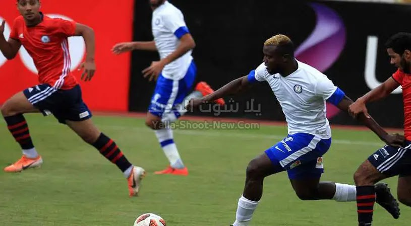 بهدف وحيد سموحة تتاهل لدور ال 16 من كاس مصر بعد الفوز على فريق العبور بالقليوبية