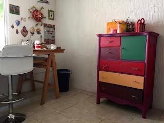 color inspiración mueble vintage arte