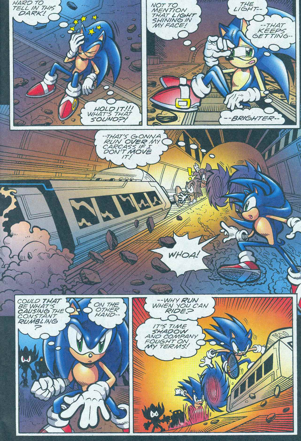 Read online Sonic The Hedgehog comic -  Issue #148 - 4