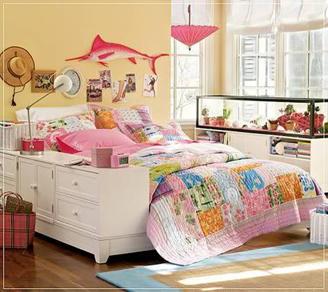 Teenage Girl Bedroom Decor Interior Designs Room