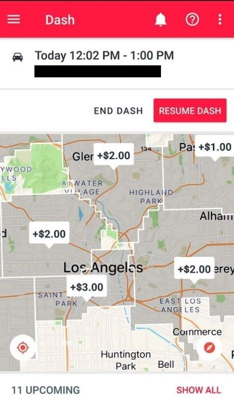 Doordash Driver: December 2017