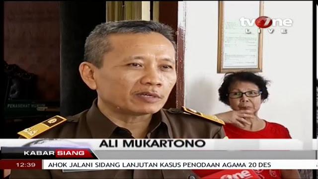 Track Record Jaksa Penuntut AHOK, dari Cicak Buaya hingga Pengen Pindahkan Haji Ke Indonesia