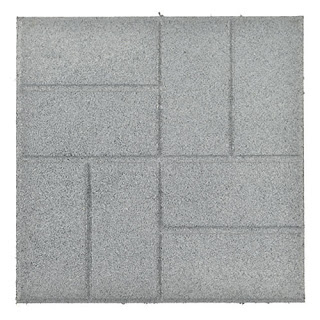 Greatmats rubber patio paver tile brick look