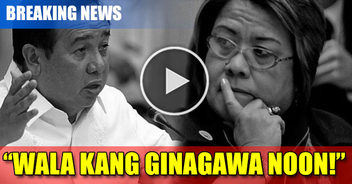 WATCH: Sen.Gordon Nagalit Ni De Lima Dahil Walang Ginagawa Noong Siya Pa Ay Secretary of DOJ Pa