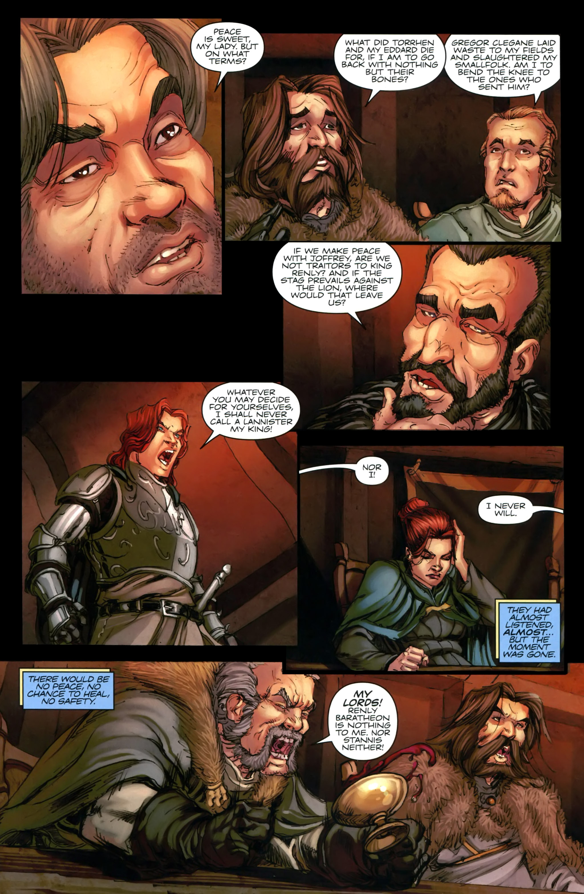 Read online A Game Of Thrones comic -  Issue #24 - 20