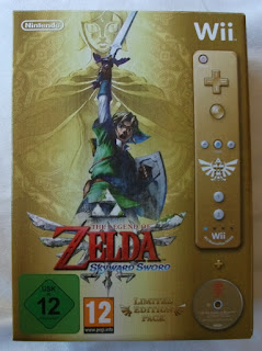 The Legend Of Zelda - Skyward Sword - Caja cartón delante