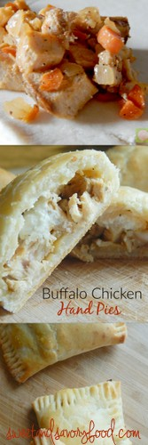 buffalo chicken hand pies (sweetandsavoryfood.com)
