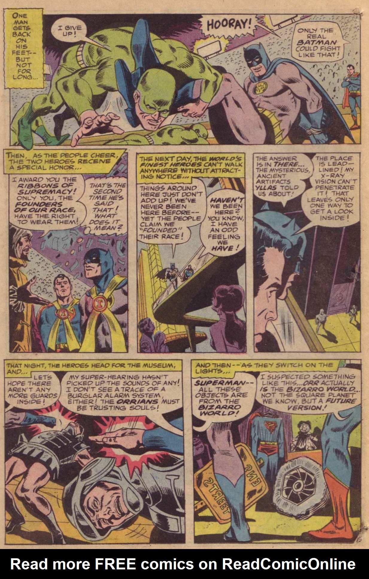 Read online World's Finest Comics comic -  Issue #181 - 17