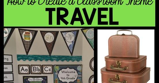 Classroom Decor Travel : Clutter free classroom travel themed ideas