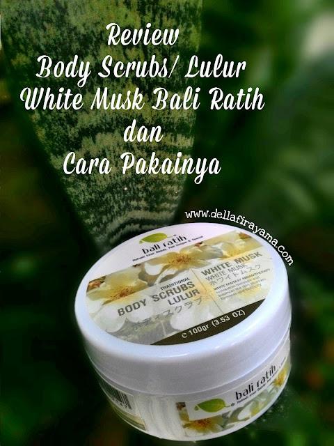 Body scrubs Bali Ratih