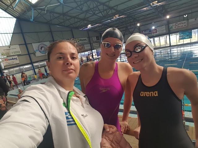 Εξαιρετικές εμφανίσεις από τους κολυμβητές του Αθλητικού  Συλλόγου Αργολίδας Ιπτάμενοι στην Τρίπολη