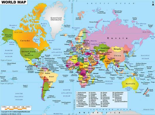 Pengertian Peta, Komponen, Simbol dan Jenisnya